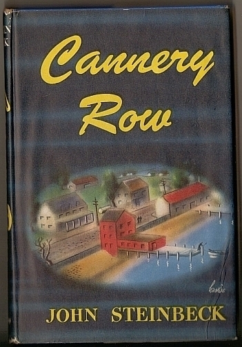 1-cannery-row-steinbeck-1945-hardcover-book-club-edition